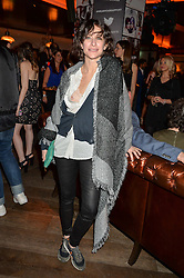 LEAH WOOD at the Fashion Targets Breast Cancer 20th Anniversary Party held at 100 Wardour Street, Soho, London on 12th April 2016.