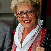 NLD/Amsterdam/20100801 - Inloop premiere musical Crazy Shopping, Marianne van Wijnkoop