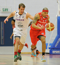 Bristol Flyers' Greg Streete - Photo mandatory by-line: Dougie Allward/JMP - Mobile: 07966 386802 - 27/02/2015 - SPORT - basketball - Bristol - SGS Wise Campus - Bristol Flyers v Leeds Force - British Basketball League