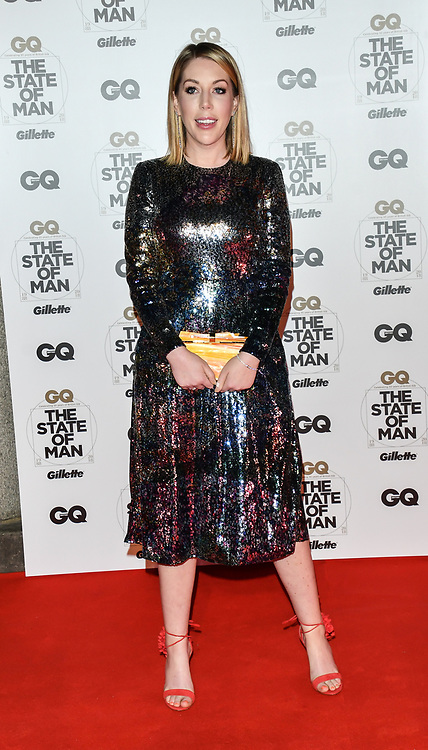 Katherine Ryan Arrivers at GQ 30th Anniversary celebration at Sushisamba, The Market, Convent Garden on 29 October 2018.
