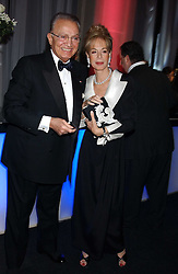 WAFIC & ROSEMARY SAID at the Conservative Party's Black & White Ball held at Old Billingsgate, 16 Lower Thames Street, London EC3 on 8th February 2006.<br />