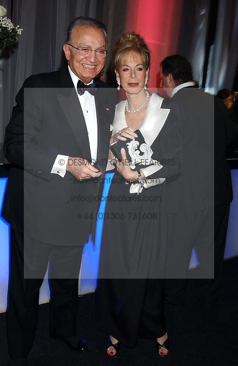 WAFIC & ROSEMARY SAID at the Conservative Party's Black & White Ball held at Old Billingsgate, 16 Lower Thames Street, London EC3 on 8th February 2006.<br /><br />NON EXCLUSIVE - WORLD RIGHTS
