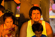 Family, Crow Fair Powwow, Crow Indian Reservation, Montana