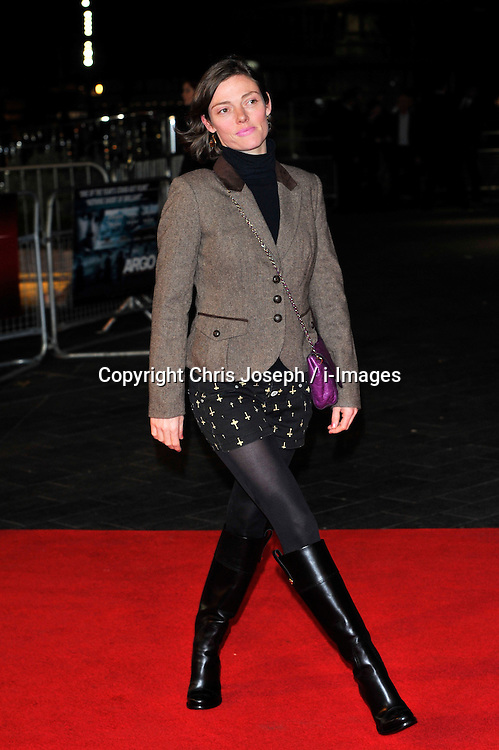 Camilla Rutherford arrives for the 56th BFI London Film Festival: Argo - Accenture gala held at the Odeon, Leicester Square, London, England, October 17, 2012. Photo by Chris Joseph / i-Images. ..