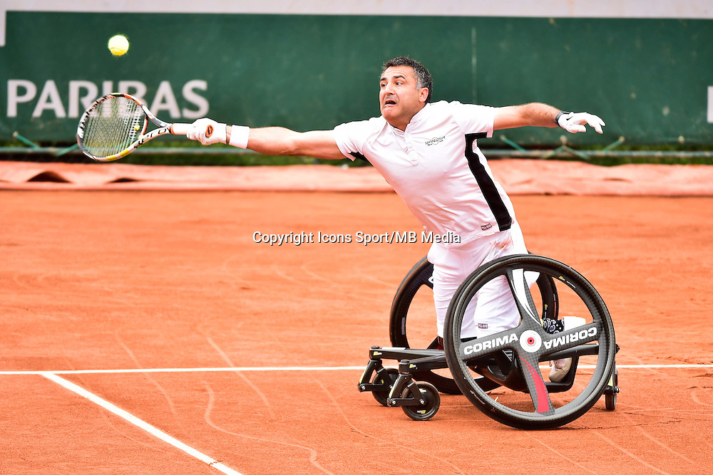 Stephane HOUDET - 03.06.2015 - Jour 11 - Roland Garros 2015<br />