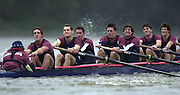 2004_Oxford University Trail Eights, Putney, London:ENGLAND. 14.12.04. Crew list. OUBC [right to left].Cowboys [Surrey].Bow Jake Sattlemair, Andrew Keats, Andrew Brennan, David Livingstone, Michael Blomquist. Henry Morris, Andy Triggs Hodge and cox Acer Nethercott..Photo Peter Spurrier.email images@intersport-images.com. ...........[Mandatory Credit Peter Spurrier/ Intersport Images] Varsity:Boat Race, Rowing Course: River Thames, Championship course, Putney to Mortlake 4.25 Miles