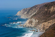 The eastern cliffs of Point Reyes National Seashore fall directly into the Pacific Ocean