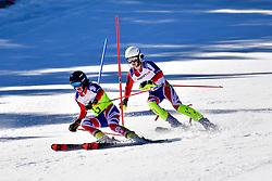SIMPSON Neil, Guide: SIMPSON Andrew, B3, GBR, Slalom at the WPAS_2019 Alpine Skiing World Cup, La Molina, Spain
