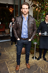 Craig McGinlay at The Ivy Chelsea Garden's Annual Summer Garden Party, The Ivy Chelsea Garden, 197 King's Road, London England. 9 May 2017.<br /> Photo by Dominic O'Neill/SilverHub 0203 174 1069 sales@silverhubmedia.com