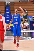 DESCRIZIONE : Trento Nazionale Italia Uomini Trentino Basket Cup Italia Austria Italy Austria <br /> GIOCATORE : Giuseppe Poeta<br /> CATEGORIA : Palleggio Mani  Schema <br /> SQUADRA : Italia Italy<br /> EVENTO : Trentino Basket Cup<br /> GARA : Italia Austria Italy Austria<br /> DATA : 31/07/2015<br /> SPORT : Pallacanestro<br /> AUTORE : Agenzia Ciamillo-Castoria/GiulioCiamillo<br /> Galleria : FIP Nazionali 2015<br /> Fotonotizia : Trento Nazionale Italia Uomini Trentino Basket Cup Italia Austria Italy Austria