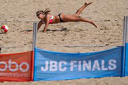23-08-2019 NED; DELA NK Beach Volleyball Qualification, Scheveningen<br /> First day NK Beachvolleyball / Desy Poiesz