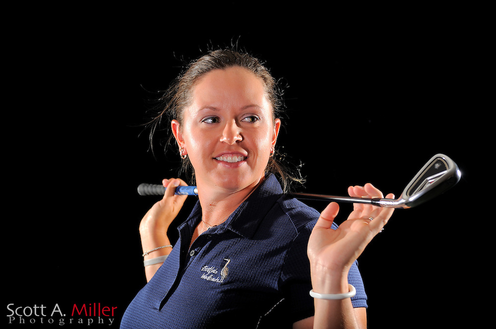 Laura Bavaird during a portrait shoot prior to the LPGA Future Tour's Daytona Beach Invitational at LPGA International's Championship Courser on March 28, 2011 in Daytona Beach, Florida... ©2011 Scott A. Miller