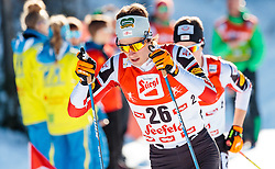 29.01.2017, Casino Arena, Seefeld, AUT, FIS Weltcup Nordische Kombination, Seefeld Triple, Langlauf, im Bild Paul Gerstgraser (AUT) // Paul Gerstgraser of Austria during Cross Country Gundersen Race of the FIS Nordic Combined World Cup Seefeld Triple at the Casino Arena in Seefeld, Austria on 2017/01/29. EXPA Pictures © 2017, PhotoCredit: EXPA/ JFK