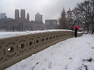 Bow Bridge, Central Park, New York City.