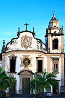 sao berto church in olinda near recife pernambuco state brazil