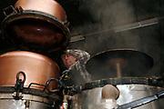 Distillerie et Cidrerie Morard Le Bry. Branntweinbrennerei und Mosterei in Le Bry, Gruyère. © Romano P. Riedo