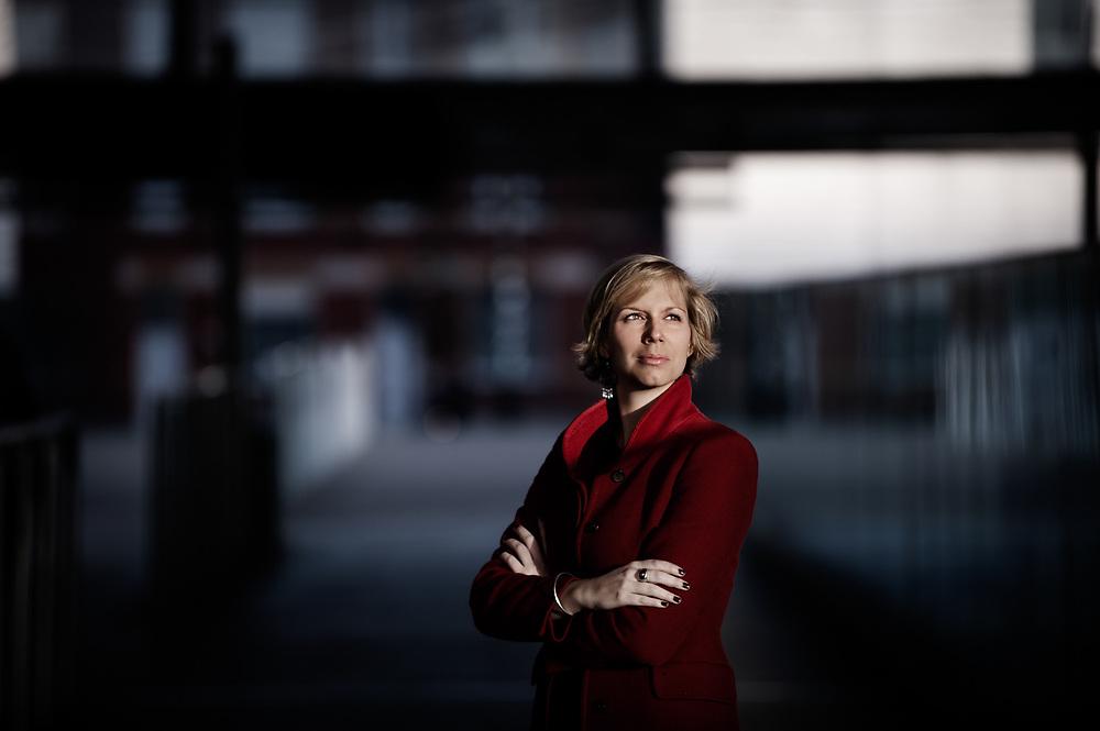 Belgian journalist Alice Dive (Belgium, 23/11/2014)