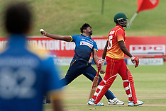 Harare- Zimbabwe Vs Sri Lanka - 14 Nov 2016