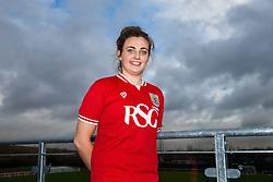 Bristol City Women's FC loan signing Jodie Brett - Mandatory byline: Rogan Thomson/JMP - 11/01/2016 - FOOTBALL - Stoke Gifford Stadium - Bristol, England - Bristol City Women's FC New Signings.