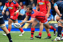 Rhodri Williams of Bristol Rugby - Mandatory by-line: Ian Smith/JMP - 20/08/2016 - RUGBY - BT Sport Cardiff Arms Park - Cardiff, Wales - Cardiff Blues v Bristol Rugby - Pre-season friendly