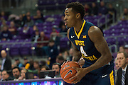 FORT WORTH, TX - JANUARY 4: Daxter Miles Jr. #4 of the West Virginia Mountaineers brings the ball up court against the TCU Horned Frogs on January 4, 2016 at Ed and Ray Schollmaier Arena in Fort Worth, Texas.  (Photo by Cooper Neill/Getty Images) *** Local Caption *** Daxter Miles Jr.