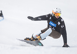 Udolf Dylan during the FIS snowboarding world cup race in Rogla (SI / SLO) | GS on January 20, 2018, in Jasna Ski slope, Rogla, Slovenia. Photo by Urban Meglic / Sportida