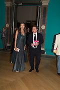 PRISCILLA DE LORENZO; FERRUCCIO DE LORENZO, Royal Academy Summer exhibition private view. Piccadilly. London. 3 June 2015