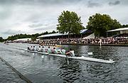 Henley on Thames, Henley. UK.<br /> <br /> 2005 Henley Royal Regatta, Henley on Thames, ENGLAND. <br /> <br /> 'Princess Elizabeth Challenge Cup', Eton College - winners.  Henley on Thames, ENGLAND. 03.07.2005. Sunday.  Finals <br /> <br /> <br /> [Mandatory Credit Peter Spurrier/ Intersport Images] ...........Rowing Courses, Henley Reach, Henley, ENGLAND. HRR