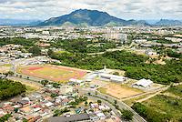 Brasil - Espirito Santo - Serra - Vista aerea da Estacao do Conhecimento da Vale com Mestre Alvaro ao fundo - Foto: Gabriel Lordello/ Mosaico Imagem
