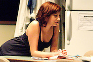 Heather Atkinson as Una during a dress rehearsal of Blackbird at the Dayton Theatre Guild, Thursday, April 21, 2011.