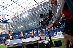 15.10.2011, Veltins Arena, Gelsenkirchen, GER, 1. FBL, FC Schalke 04 vs. 1. FC Kaiserslautern, im Bild Ex-Schiedsrichter Markus Merk zu Gast im Talk beim TV Sener SKY // during FC Schalke 04 vs. 1. FC Kaiserslautern at Veltins Arena, Gelsenkirchen, GER, 2011-10-15. EXPA Pictures © 2011, PhotoCredit: EXPA/ nph/  Kurth       ****** out of GER / CRO  / BEL ******