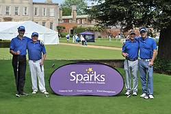 TEAM BEZZA'S  BLUES, Sparks Leon Haslam Golf Day Wellingborough Golf Course Tuesday 7th June 2016