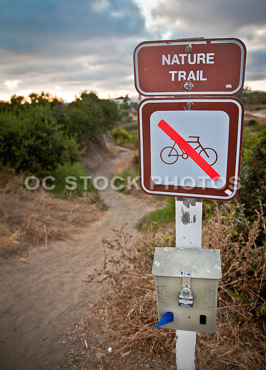 Calafia State Park Trail Head Orange County California
