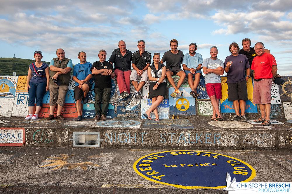 équipage bateau accompagnateurs