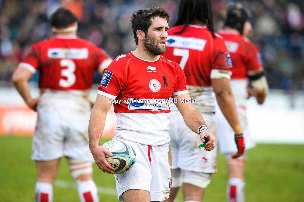 Maxime Lucu - 25.01.2015 - Massy / Biarritz - 18eme journee de Pro D2<br /> Photo : Andre Ferreira / Icon Sport