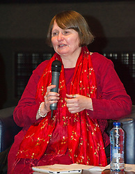 Pictured; Sash Gallagher   <br /> <br /> The Ken Loach film 'I, Daniel Blake' was given a special screening in Edinburgh today in front of  anti-austerity campaigners. The event was arranged by William Black who was joined by the screenwriter, Paul Laverty, Minister for Social Security in Scotland Jeane Freeman, Lewis Akers, member of the Scottish Youth Parliament for Dunfermline, Mikle Valance, ACE and Action Against Poverty, Bill Scott, Inclusion Scotland with Sasha Gallagher afrom Disability History Scotland acting as co-ordinater of the Q&A. <br /> <br /> (c) Ger Harley | Edinburgh Elite media