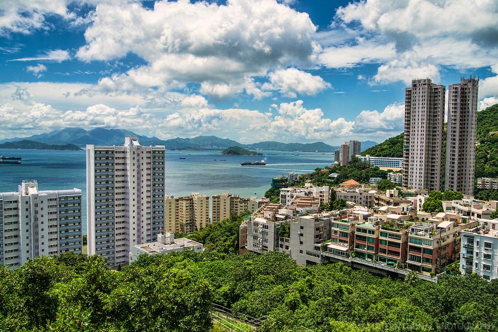 View from University of Hong Kong, Pok Fu Lam