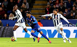 Riyad Mahrez of Leicester City runs with the ball - Mandatory by-line: Robbie Stephenson/JMP - 06/11/2016 - FOOTBALL - King Power Stadium - Leicester, England - Leicester City v West Bromwich Albion - Premier League