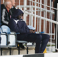 Dundee new boy Kevin Gomis was in the stands for Dundee v Hamilton Academical in the Ladbrokes Scottish Premiership at Dens Park<br /> <br />  - &copy; David Young - www.davidyoungphoto.co.uk - email: davidyoungphoto@gmail.com