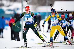 March 10, 2019 - –Stersund, Sweden - 190310 Denise Herrmann of Germany and Mona Brorsson of Sweden during the Women's 10 km Pursuit during the IBU World Championships Biathlon on March 10, 2019 in Östersund..Photo: Petter Arvidson / BILDBYRÃ…N / kod PA / 92254 (Credit Image: © Petter Arvidson/Bildbyran via ZUMA Press)