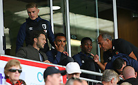 Football - 2018 / 2019 Premier League - AFC Bournemouth vs. Cardiff City<br /> <br /> Former Bournemouth player and now on loan to Cardiff Harry After sits with his former team mates at the Vitality Stadium (Dean Court) Bournemouth <br /> <br /> COLORSPORT/SHAUN BOGGUST
