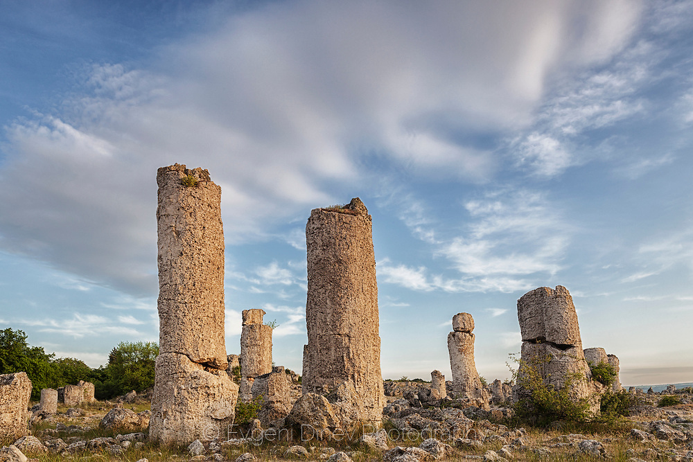 Rock phenomenon located in Varna Province. The formations are mainly stone columns between 5 and 7 metres high.