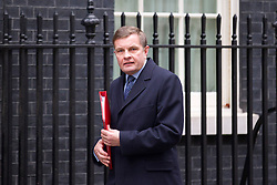 © Licensed to London News Pictures. 07/01/2013. London, UK. Welsh Secretary David Jones is seen on Downing Street in London today (07/01/13) before the first cabinet meeting of 2013. Photo credit: Matt Cetti-Roberts/LNP