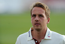 Somerset's Josh Davey- Photo mandatory by-line: Harry Trump/JMP - Mobile: 07966 386802 - 28/04/15 - SPORT - CRICKET - LVCC Division One - County Championship - Somerset v Middlesex - Day 3 - The County Ground, Taunton, England.