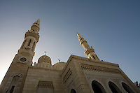 UAE Dubai The Jumeirah Mosque the only mosque which non-Muslims are permitted to visit.