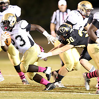 Adam Robison | BUY AT PHOTOS.DJOURNAL.COM<br /> Amory running back Monzaiver Latham breaks free from the Pontotoc defense