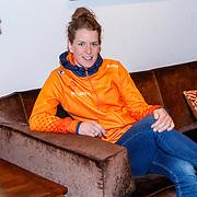 NLD/Oranjewoud/20171222 - Perspresentatie leden schaatsteam Justlease, Ireen Wust