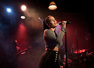 Jorja Smith, R&B soul singer,  live at the sold-out Junction in Cambridge, UK on 12 Feb 2018