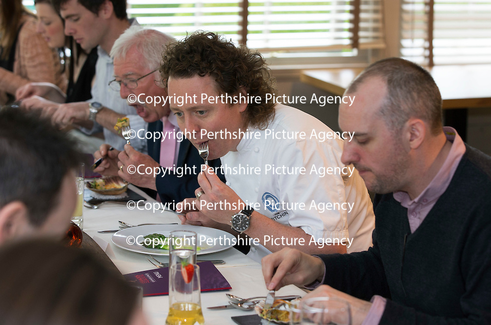 Free To Use Photograph Tom Kitchin Leads The Culinary Festivities At