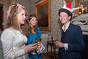 FREYA WOOD; SASHA GALITZINE; MATHEW BELL, Tatler magazine Jubilee party with Thomas Pink. The Ritz, Piccadilly. London. 2 May 2012
